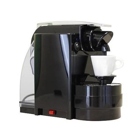 Cafetera Espresso del Capitano negra, +14 cápsulas de regalo!