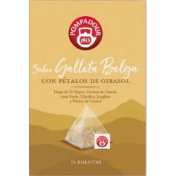 Galleta Belga con Pétalos de Girasol