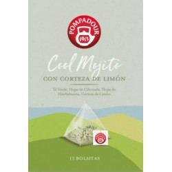 Cool Mojito con Corteza de Limón