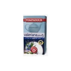 Infusión Valeriana Plus 5 con un toque de limón