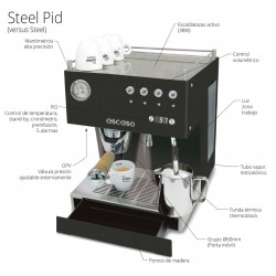 Cafetera Steel UNO PID