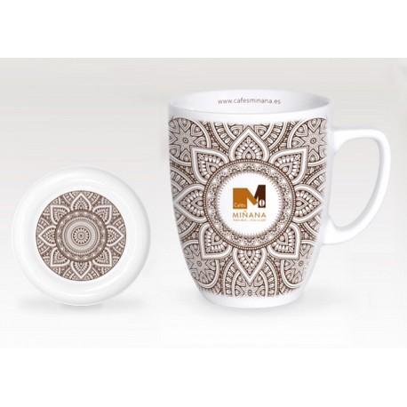 Taza de café con leche