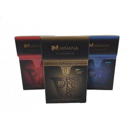 Pack Cápsulas 3 variedades